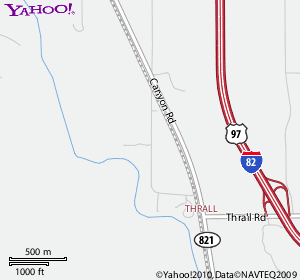 Yahoo Map of Ringer Loop